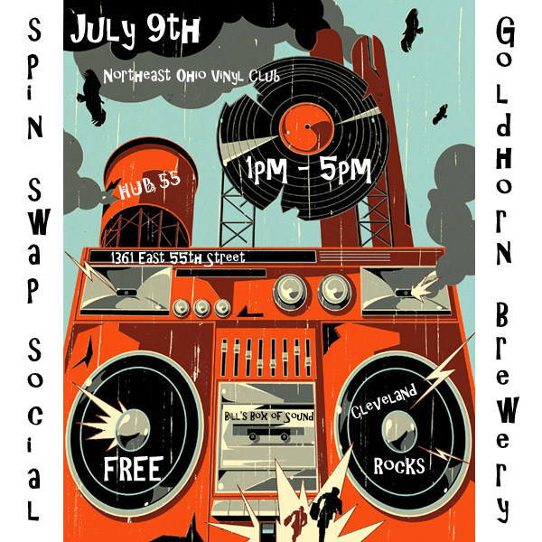 Neo Spin Swap Social July 9th Goldhorn Brewery